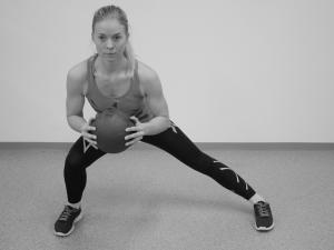 Stabilitetsøvelser for kne .